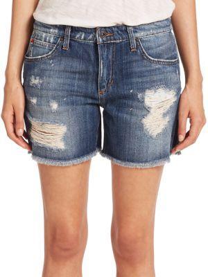 Joe's Rika Distressed Denim Shorts