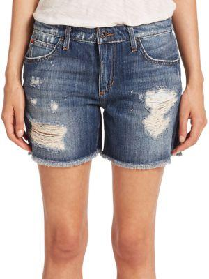 Joe's Rika Distressed Denim Shorts