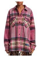 We11done Plaid Wool Shirt