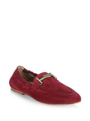 Tod's Cuoio Legg Suede Loafer