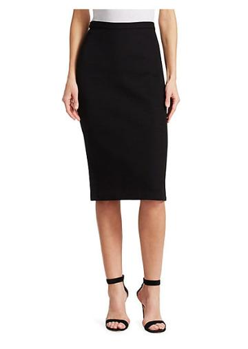 St. John Pique Milano Knit Skirt