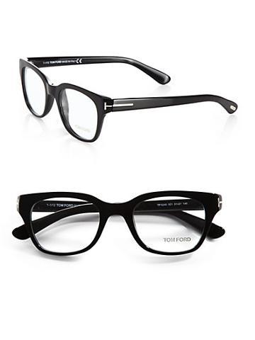 Tom Ford Eyewear Wayfarer-inspired Plastic Eyeglasses