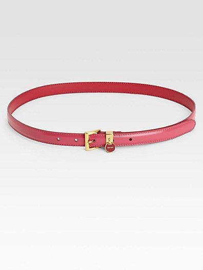 Prada Cinture Leather Belt