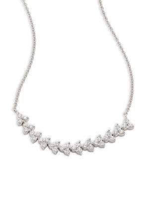 Hueb Reverie Diamond & 18k White Gold Necklace
