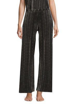 Cosabella Plisse Wide-leg Pants