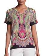 Etro Paisley Printed Top