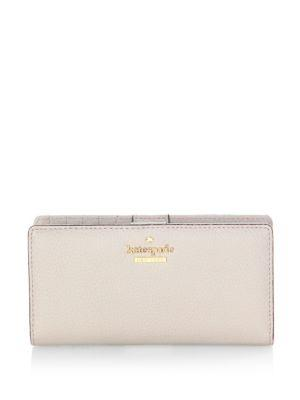 Kate Spade New York Pebbled Leather Medium Continental Wallet