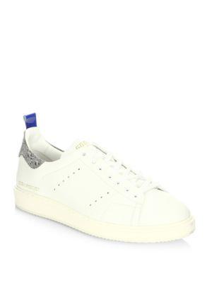Golden Goose Deluxe Brand Starter Low Top Sneakers