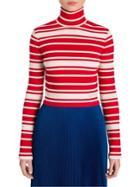 Prada Cropped Turtleneck Sweater