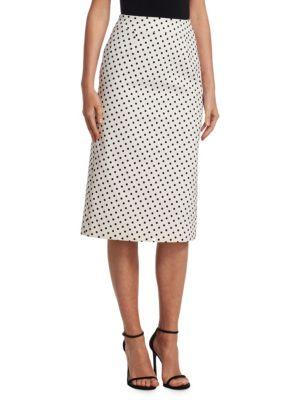 Mary Katrantzou Sigma Polka Dot A-line Skirt