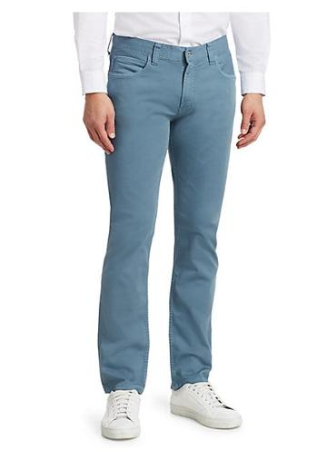 Emporio Armani Stretch Cotton Five-pocket Jeans