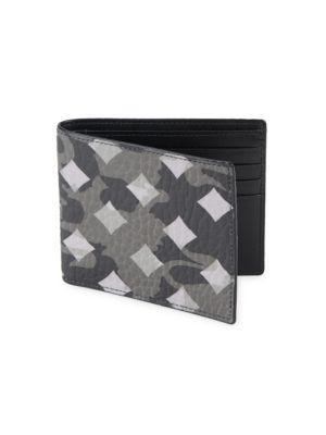 Mcm Otto Canvas Bi-fold Wallet