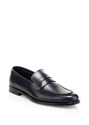 Paul Smith Leather Penny Loafers