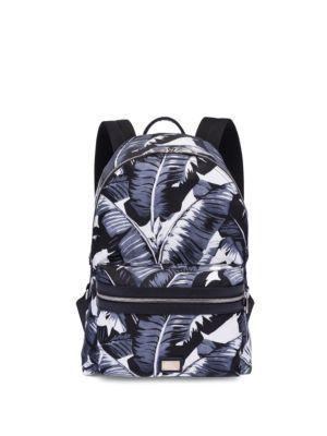 Dolce & Gabbana Palm Leave-printed Backpack