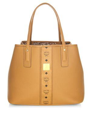 Mcm Project Leather Shoulder Bag