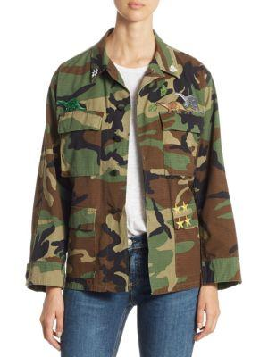 Harvey Faircloth Camo Vintage Cotton Jacket