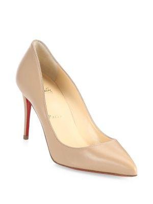 Christian Louboutin Pigalle Follies Red Point Toe Pumps
