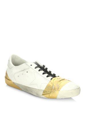 Golden Goose Deluxe Brand Superstar Leather Low Top Sneakers