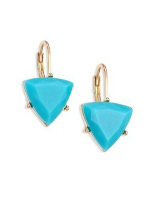 Abs By Allen Schwartz Jewelry Going Coastal Faceted Drop Earrings