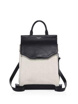 Rag & Bone Pilot Ii Colorblock Leather Backpack