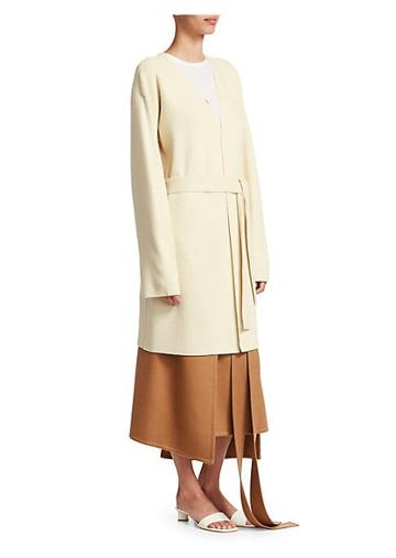 Loewe Belted Wool & Cashmere Knit Coat