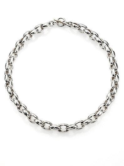 Ippolita Glamazon Sterling Silver Oval Link Necklace