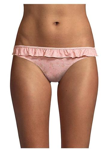 Loveshackfancy Riviera Ruffle Bikini Bottom
