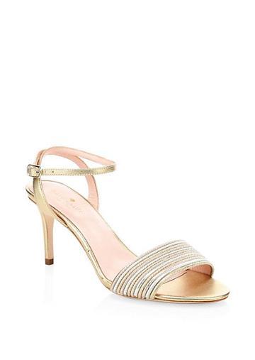 Kate Spade New York Jasmyne Leather Ankle-strap Sandals