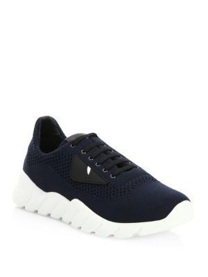 Fendi Knit Bug Sneakers