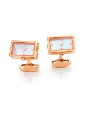 Tateossian Piccolo Mother-of-pearl Watch Cuff Links