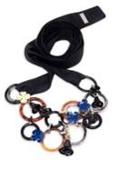 Marni Circles Flower Necklace