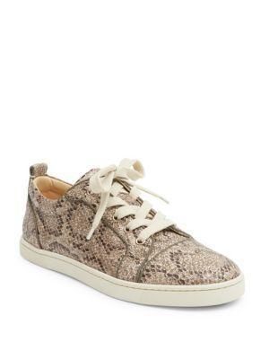 Christian Louboutin Classique Gonoliere Orlato Glitter Sneakers