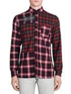 Lanvin Cotton Plaid Print Shirt