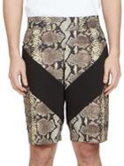 Givenchy Python Print Shorts