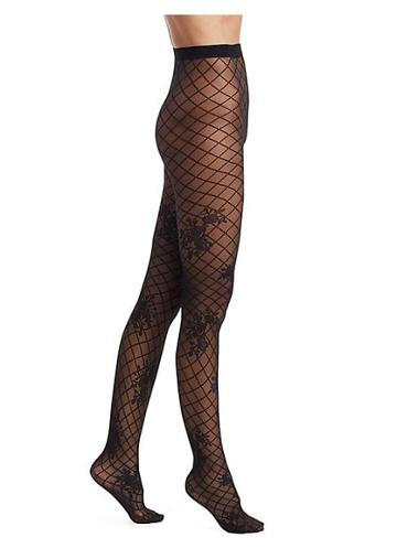 Wolford Mira Fishnet Design Tights