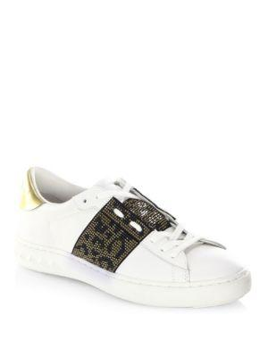 Ash Panthera Leather Sneakers