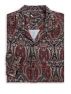 The Kooples Fitted Hawaiian Print Dress Shirt