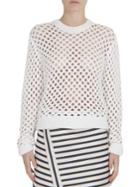 Carven Open Knit Sweater