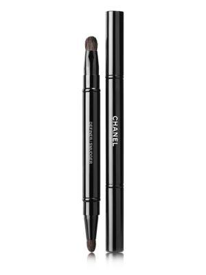 Chanel Les Pinceaux De Chanel Retract Dual-tip Eye-contouring Brush