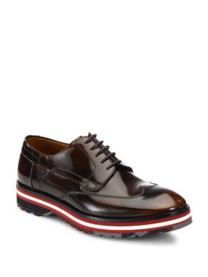 Bally Morely Wingtip Leather Oxfords