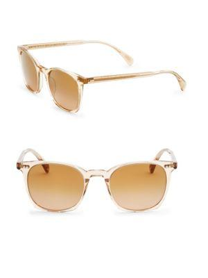 Oliver Peoples L.a Coen 49mm Square Sunglasses