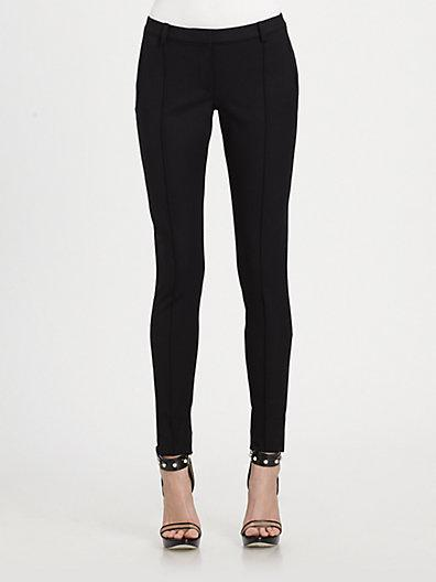 Jason Wu Bi-stretch Gabardine Stovepipe Pants