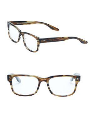 Barton Perreira Huncke Sulcata Tortoise 52mm Optical Glasses