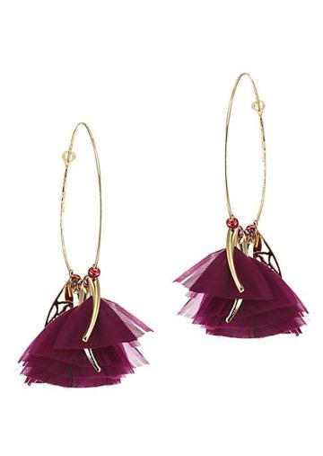 Gas Bijoux Marly Hoop Earrings