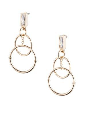 Eddie Borgo Baguette Eclipse Earrings