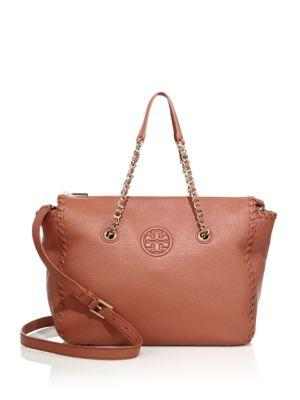 Tory Burch Marion Leather Satchel