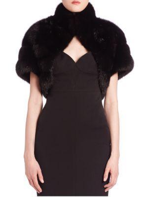 The Fur Salon Sable Fur Shrug