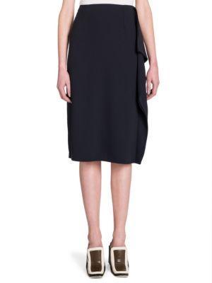 Marni Ruffle Side Skirt