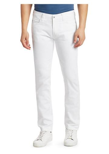 Emporio Armani Stretch Cotton Straight Leg Jeans