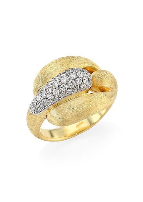 Marco Bicego Legami Diamond & 18k Yellow Gold Ring